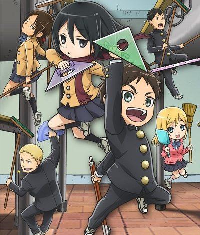 Shingeki! Kyojin Chuugakkou Original Soundtrack